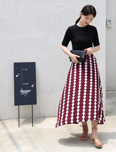 Cube skirts (2color)