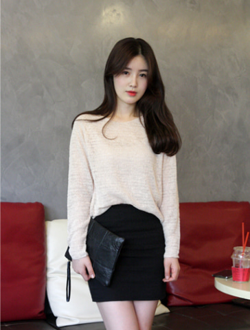 Mory knit (4color)